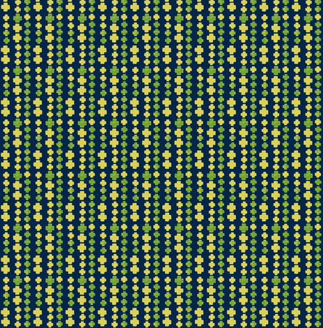 plus signs stamped on navy blue fabric by ali*b on Spoonflower - custom fabric