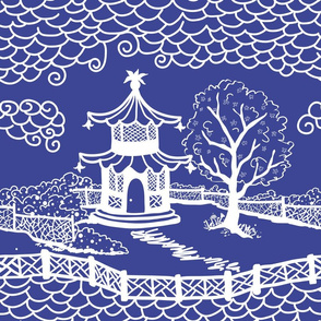 pagoda_cloud_fretwork cobalt