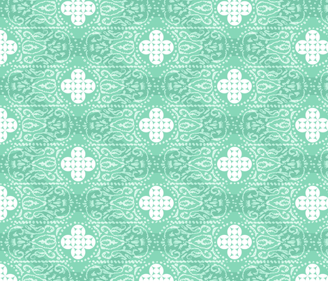 BONITO - quiet spruce fabric by marcador on Spoonflower - custom fabric