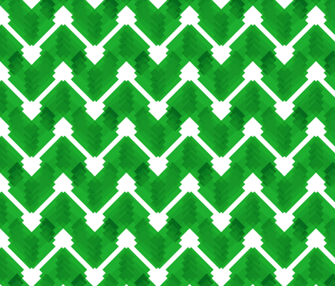 FLASH - Christmas green fabric by marcador on Spoonflower - custom fabric