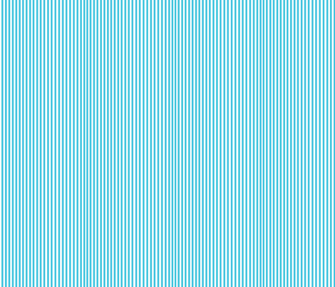 Perfectly Pinstripe in Baby Blue // White fabric by theartwerks on Spoonflower - custom fabric