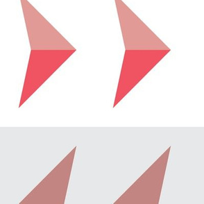 Arrows in modern pink