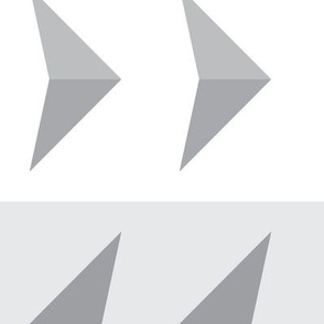 Arrows in modern gray