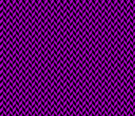 Small Purple Chevron Braid fabric by mammajamma on Spoonflower - custom fabric