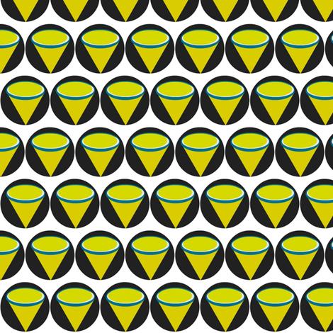 Margaritaville   geo-small fabric by drapestudio on Spoonflower - custom fabric