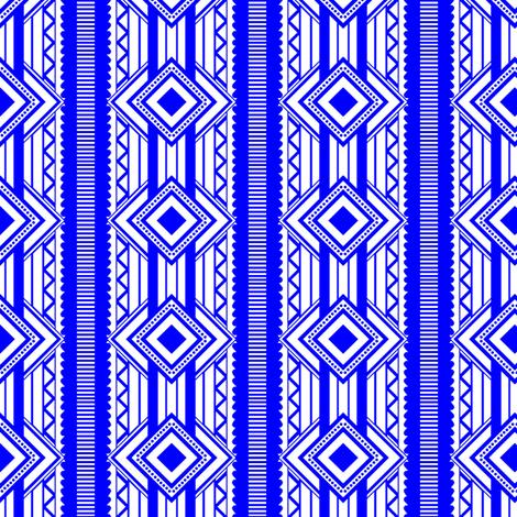 Geo love fabric by deesree on Spoonflower - custom fabric