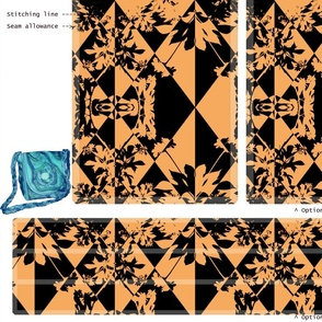 DIY Handbag - Black and Tan