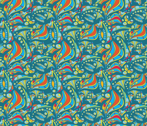 Creating the world fabric by ksanask on Spoonflower - custom fabric