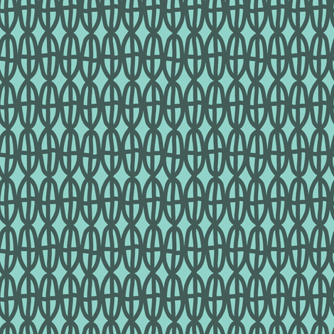 four up and down in gray and blue fabric by lola_designs on Spoonflower - custom fabric