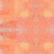 fire watercolor ikat