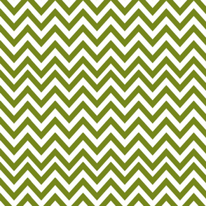 chevron in moss