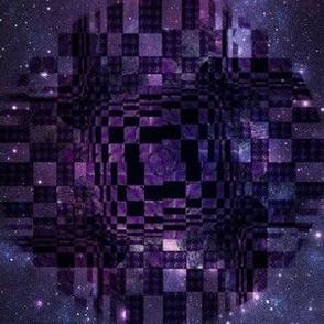 Purple Diamond Space