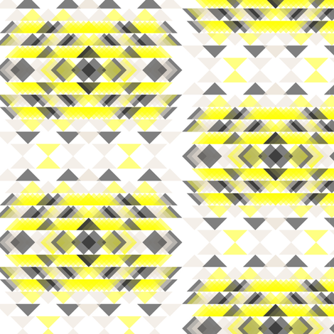 stacking small geometry fabric by xuu on Spoonflower - custom fabric
