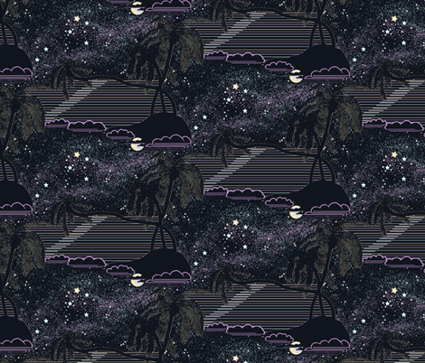 Southern Cross fabric by art_on_fabric on Spoonflower - custom fabric