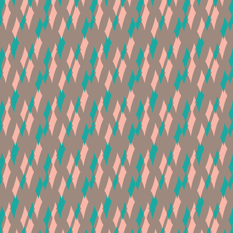 Ladies love diamonds fabric by april_9_design on Spoonflower - custom fabric