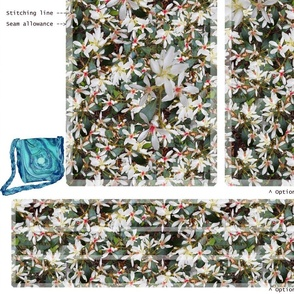 hDIY Handbag - hawthorn flower