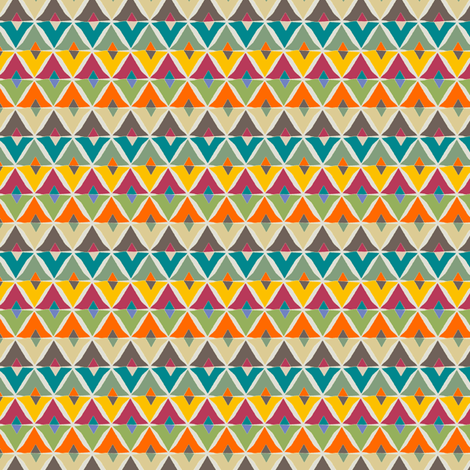 COLOURFUL DIAMONDS fabric by juliagrifol on Spoonflower - custom fabric