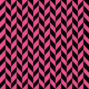 Small Pink Chevron Braid