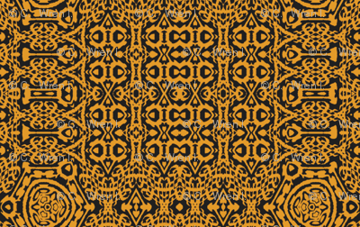 Butterscotch Brocade
