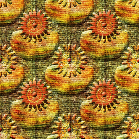 Sunflowers and Section Lines