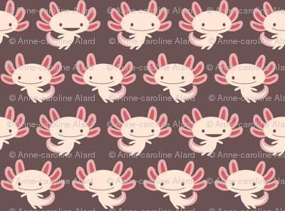 Cute axolotls