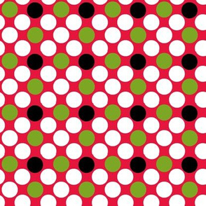 Giant Dots_on_Red