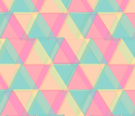 ∆∆∆ Triangles [big] fabric by lydia_meiying on Spoonflower - custom fabric
