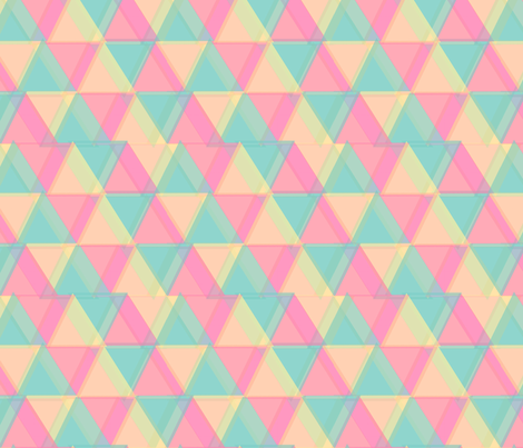∆∆∆ Triangles [small] fabric by lydia_meiying on Spoonflower - custom fabric