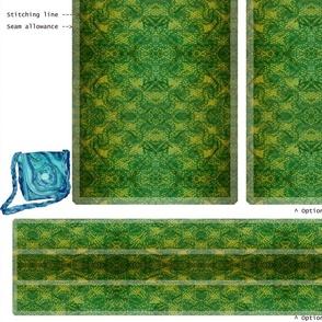 DIY handbag - green