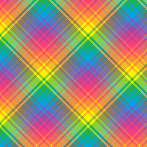 Rainbow Plaid 04