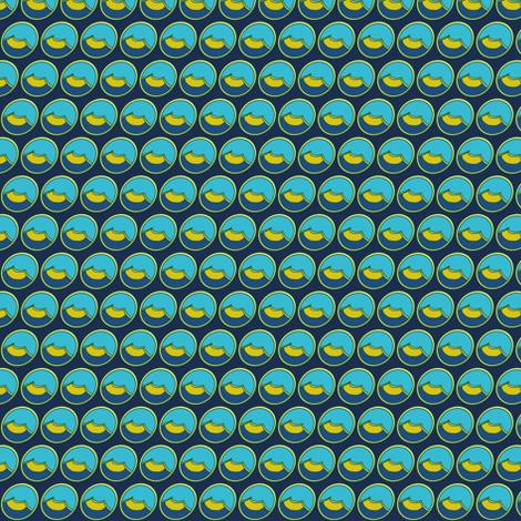 Tiny Shoe Print: Navy  fabric by vanillabeandesigns on Spoonflower - custom fabric