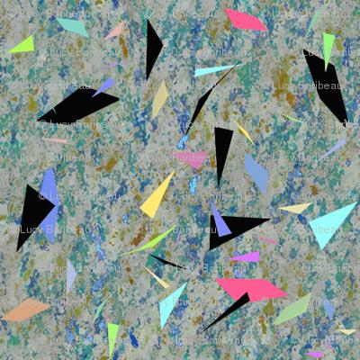 geometric confettis
