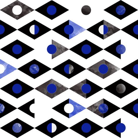 Black  fabric by elizabethdoyle on Spoonflower - custom fabric
