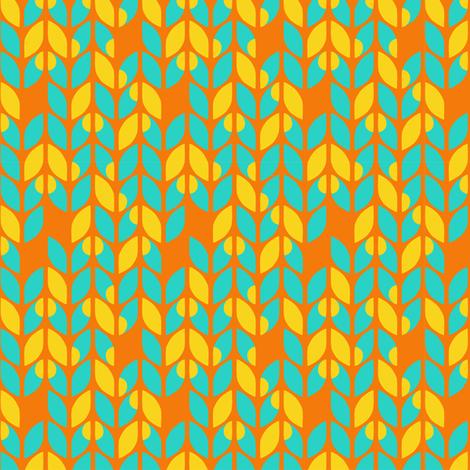 Sunburst Knits fabric by momshoo on Spoonflower - custom fabric