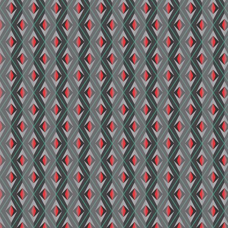 Rrdiamond_eye_turquoise_red_and_greytones_linen_stripe_shoe_size_shop_preview