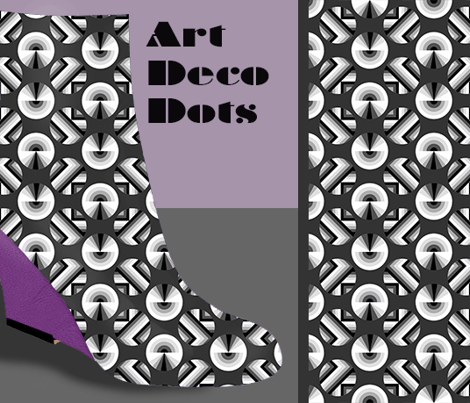 Art Deco Dots