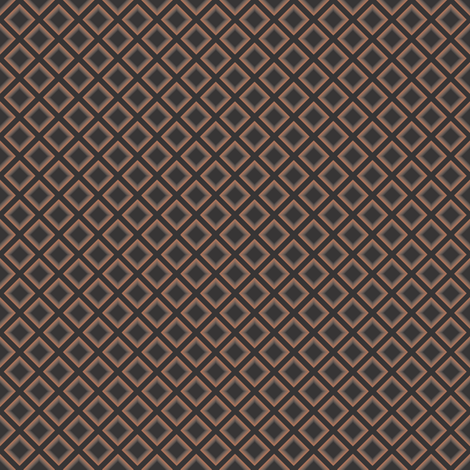 Black and Tan Square on Square fabric by jilly_lou on Spoonflower - custom fabric