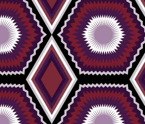 Geometric Wallpaper fabric by marystengel on Spoonflower - custom fabric