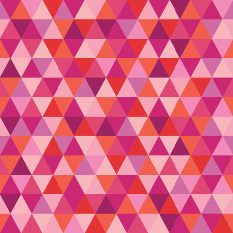 bitty in pink fabric by penny_eversole on Spoonflower - custom fabric