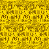 Personalised Name Fabric - Yellow a
