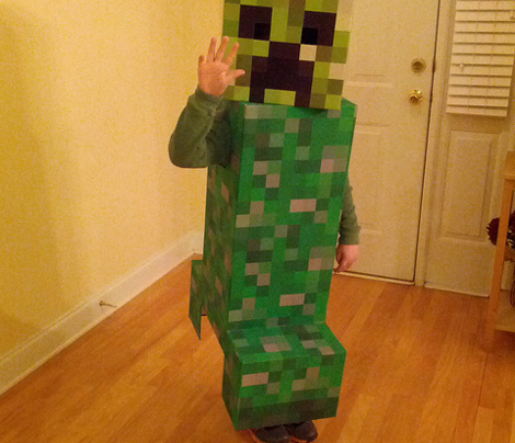 Creeper Check Child Life Size Squares