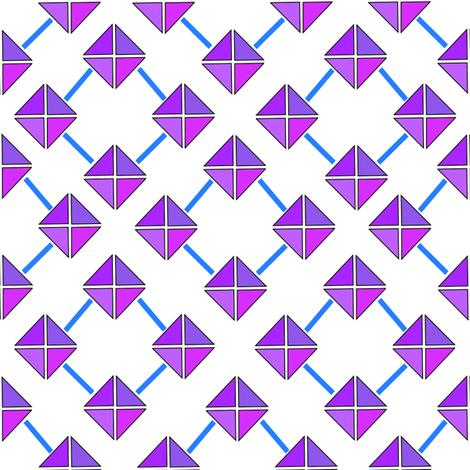 geoprint fabric by dihearts on Spoonflower - custom fabric