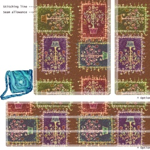 DIY Handbag - Tree of Life Multi