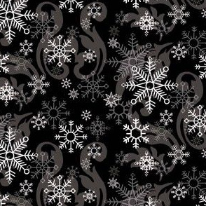 New_Snowflake_Black_Damask