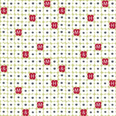 StepByStep4MandH fabric by dwdesigns on Spoonflower - custom fabric