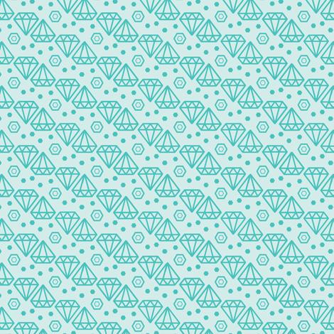 Geometric Diamond fabric by gnome_work on Spoonflower - custom fabric