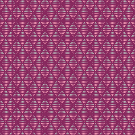 Lovely Triangles  fabric by jubilli on Spoonflower - custom fabric