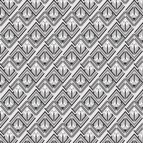 slightly deco fabric by nakina on Spoonflower - custom fabric