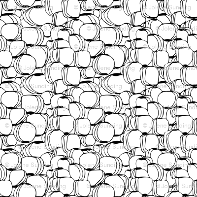 Asymmetrical Vase shoe design pattern