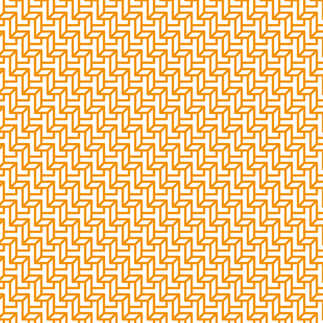 Tangerine Steps fabric by zev_nz on Spoonflower - custom fabric